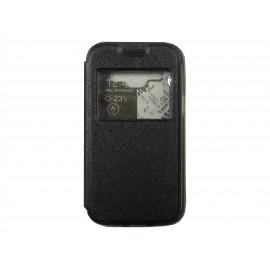 Pochette Inote Samsung Galaxy J1 + film verre trempé Incassable