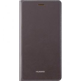 Etui à rabat Huawei P8 Lite marron