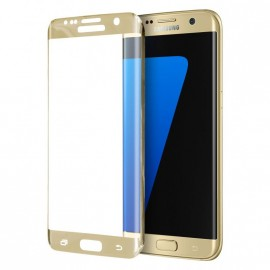 Film verre trempé pour Samsung Galaxy S7 Edge or