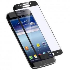Film verre trempé pour Samsung Galaxy S7 Edge noir