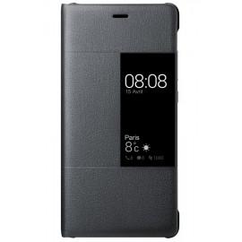 Etui fenêtre à rabat Huawei P9 noir