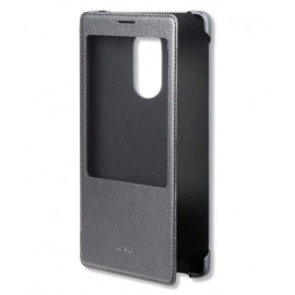 Etui fenêtre à rabat Huawei P9 Lite noir
