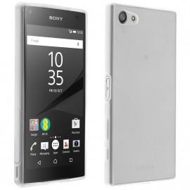 Coque silicone transparente pour Sony Xperia Z5
