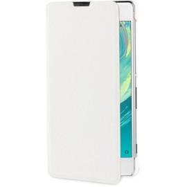 Etui pochette Roxfit pour Sony Xpéria XA blanche