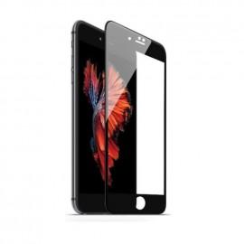Film verre trempé pour Iphone 7 noir intégral