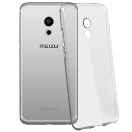 Coque silicone transparente pour Meizu Pro 6
