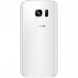 Vitre arrière Samsung Galaxy S7 blanche