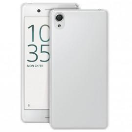 Coque silicone transparente pour Sony Xpéria X