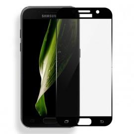 Film verre trempé pour Samsung A5 2017 noir intégral