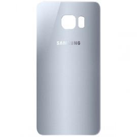 Vitre arrière Samsung Galaxy S7 argent