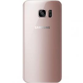 Vitre arrière Samsung Galaxy S7 rose