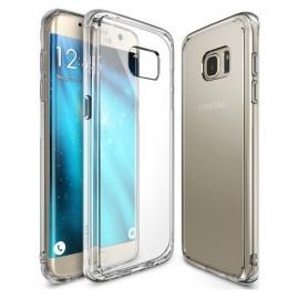 Coque silicone gel transparente pour Samsung S8