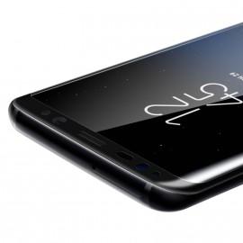 Film verre trempé pour Samsung Galaxy S8 Plus incurvé noir