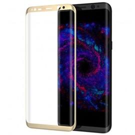 Film verre trempé pour Samsung Galaxy S8 Plus incurvé or