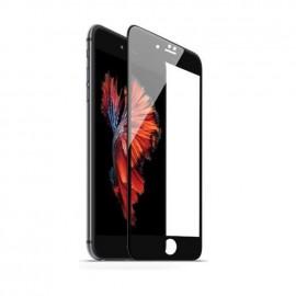 Film verre trempé incurvé pour Iphone 6/6S intégral noir 5D