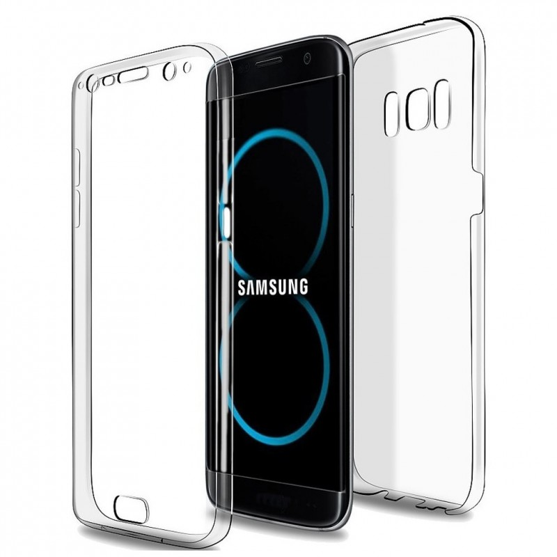 coque silicone int grale avant arri re pour samsung s8. Black Bedroom Furniture Sets. Home Design Ideas