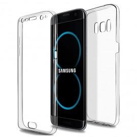 Coque silicone intégrale avant arrière pour Samsung S8 Plus