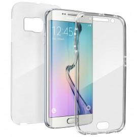 Coque silicone intégrale avant arrière pour Samsung S6 Edge