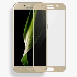 Film verre trempé pour Samsung A3 2017 or intégral