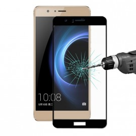 Film verre trempé pour Huawei Honor 8 intégral noir