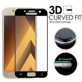 Film verre trempé incurvé intégral pour Samsung A5 2017 5D noir