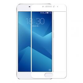 Film verre trempé incurvé pour Samsung J5 17 intégral blanc