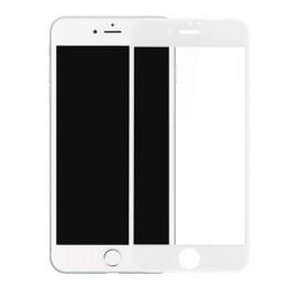 Film verre trempé incurvé pour OnePlus 5 intégral blanc 3D