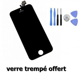 Ecran LCD + Tacile pour Iphone 5C noir
