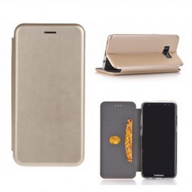 Etui pochette porte cartes pour Iphone X or