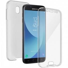 Coque silicone intégrale avant arrière pour Samsung J7 2017