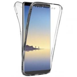 Coque silicone intégrale avant arrière pour Samsung Note 8