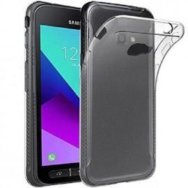 Coque silicone transparente pour Samsung Xcover 4