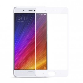 Film verre trempé Xiaomi MI6 blanc incurvé intégral