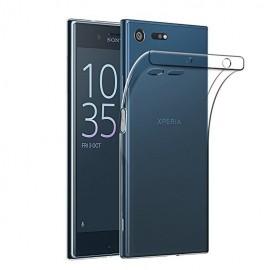 Coque silicone transparente pour Sony XZ1