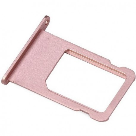 Tiroir carte SIM Iphone 6S Plus rose or