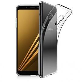 Coque silicone transparente pour Samsung A8