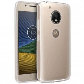 Coque silicone transparente pour Motorola G5 S Plus