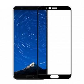 Film verre trempé pour Huawei Mate 10 Pro noir intégral incurvé