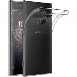 Coque silicone transparente pour Sony Xpéria XA2
