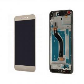 Ecran LCD origine Huawei P8 Lite 2017 or monté sur chassis