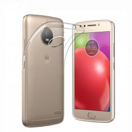 Coque silicone transparente pour Moto E4 Plus