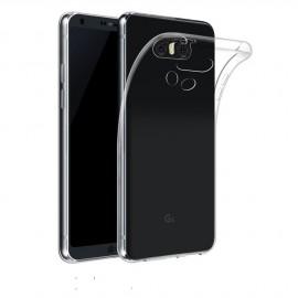 Coque silicone transparente pour LG Q6