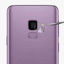 Film verre trempé caméra arrière Samsung S9