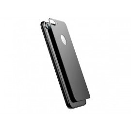 Film verre trempé arrière noir pour Iphone 8 Plus
