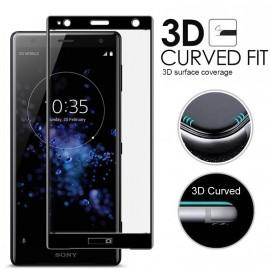 Film verre trempé intégral Sony XZ2 compact noir