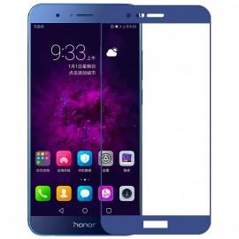 Film verre trempé bleu intégral pour Honor 8 Pro