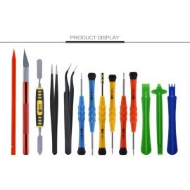 Kit outils réparation (14 pièces) BST-115 smartphone tablette
