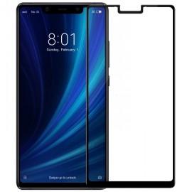 Film verre trempé intégral Xiaomi MI 8 incurvé noir