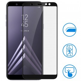 Film verre trempé intégral noir pour Samsung A6