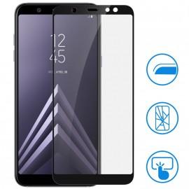 Film verre trempé intégral noir pour Samsung J6